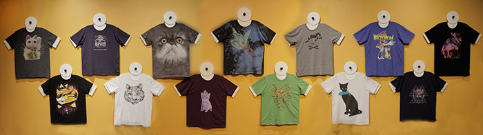 Cat T-Shirt Collection